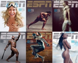 "Top Athletes in their Birthday Suits for ESPN the Magazine's ""Body Issue"""