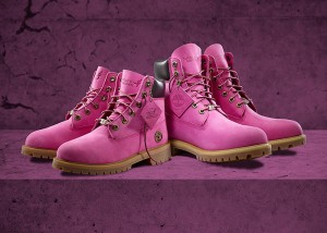 PINK POWER // Timberland x Susan G. Komen for Breast Cancer Awareness